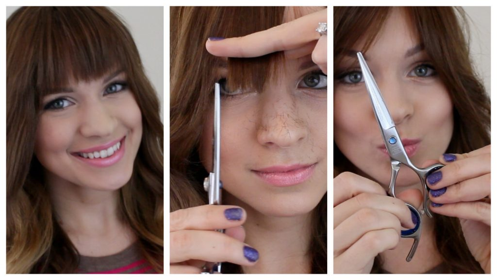 Trim Your Bangs At Home